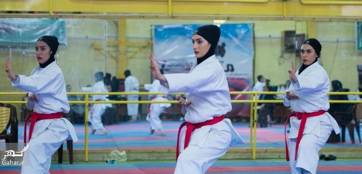 1487999248 عکس های مسابقات انتخابی تیم ملی کاراته بانوان
