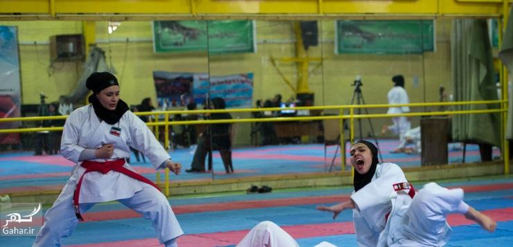 1488009590 عکس های مسابقات انتخابی تیم ملی کاراته بانوان