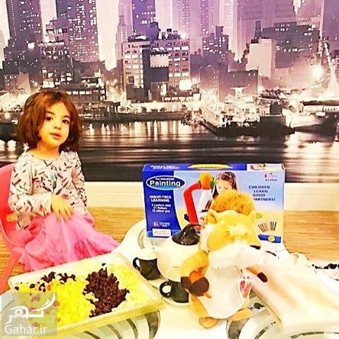 1488072287 اینستاگردی / عکس های جشن تولد دختر رضا صادقی