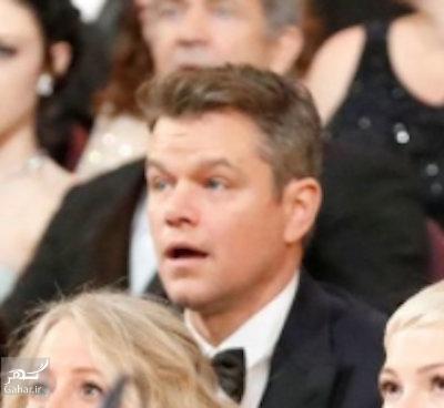 1488507651 واکنش بازیگران معروف هالیوود در لحظه اعلام اشتباه بهترین فیلم اسکار 2017 + عکس