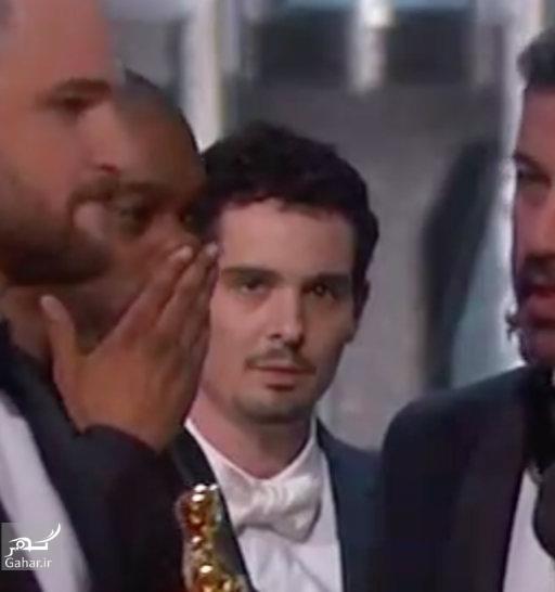 1488551332 واکنش بازیگران معروف هالیوود در لحظه اعلام اشتباه بهترین فیلم اسکار 2017 + عکس
