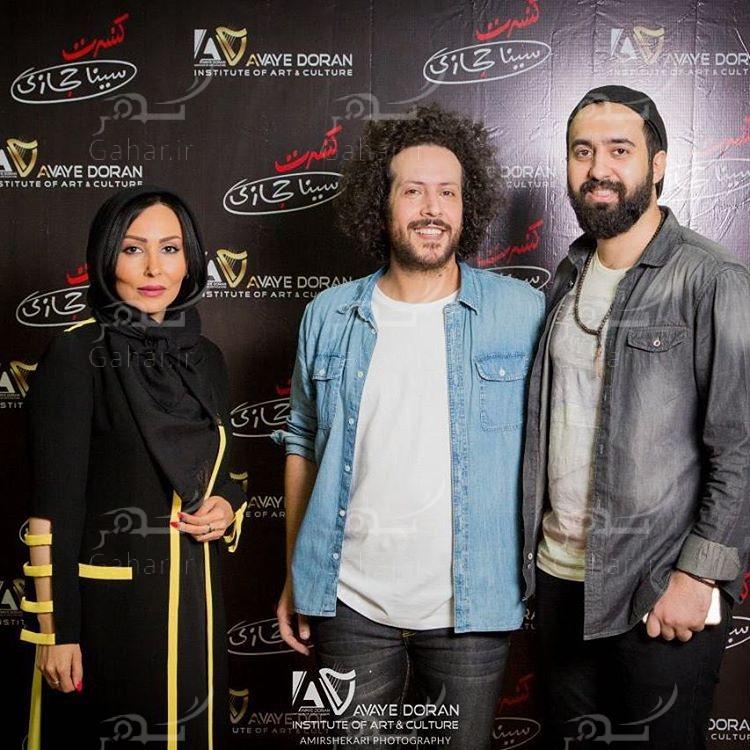 1489090745 میترا حجار در کنسرت سینا حجازی + عکس