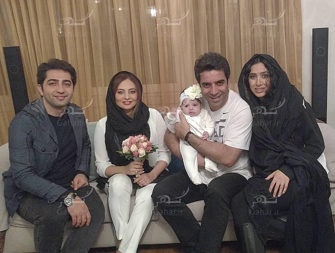 1489160079 عکسهای دیدنی از اولین سالگرد ازدواج یکتا ناصر و منوچهر هادی