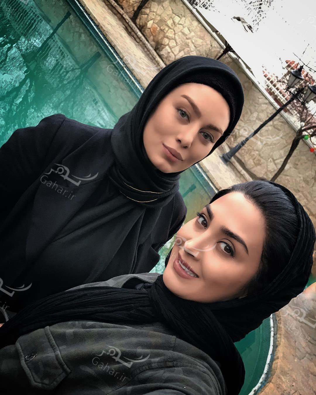 1489453901 مریم معصومی و سحر قریشی در کنار هم + عکس