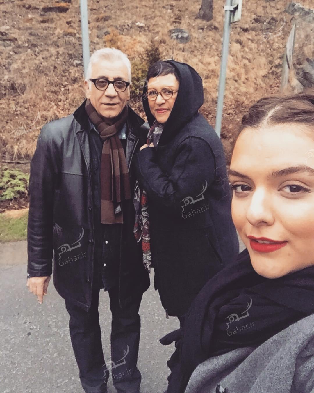 1489757028 عکس/ رویا تیموریان در کنار همسر و دخترانش
