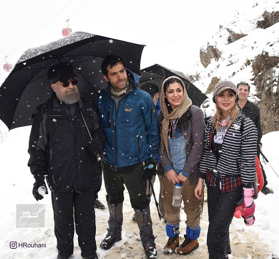1490593476 عکس/ کوه پیمایی رئیس جمهور با جوانان در تهران