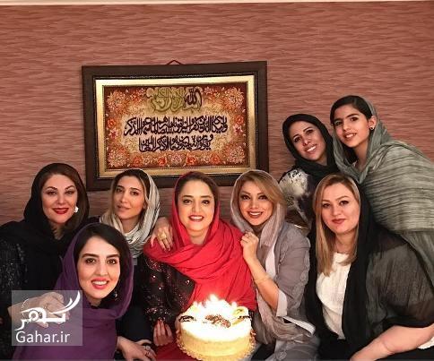 1491318277 عکسهای جشن تولد نرگس محمدی