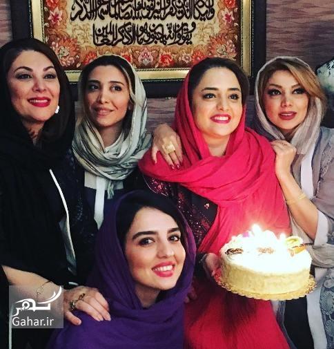 1491367057 عکسهای جشن تولد نرگس محمدی