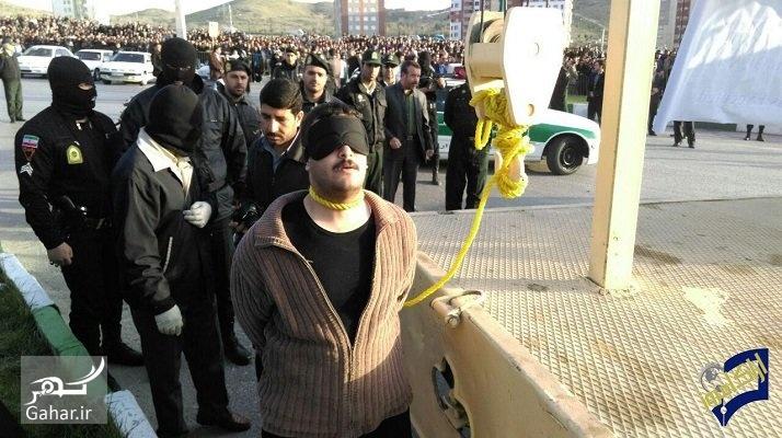 1492078142 اجرای حکم اعدام مردی که 6 نفر را در اراک کشت ؛ عکس