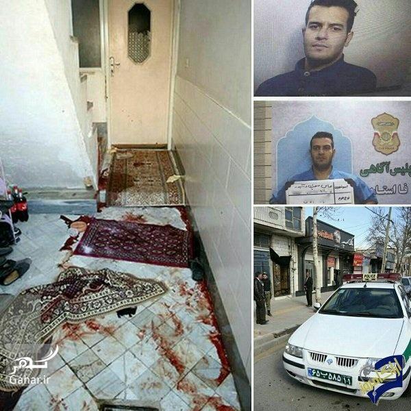 1492098863 اجرای حکم اعدام مردی که 6 نفر را در اراک کشت ؛ عکس