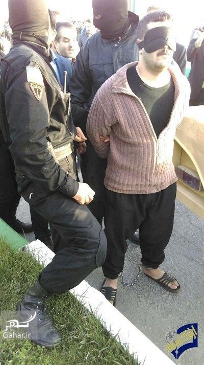 1492099959 اجرای حکم اعدام مردی که 6 نفر را در اراک کشت ؛ عکس