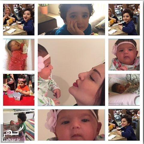 1493396209 عکس های جذاب شیلا خداداد و فرزندانش