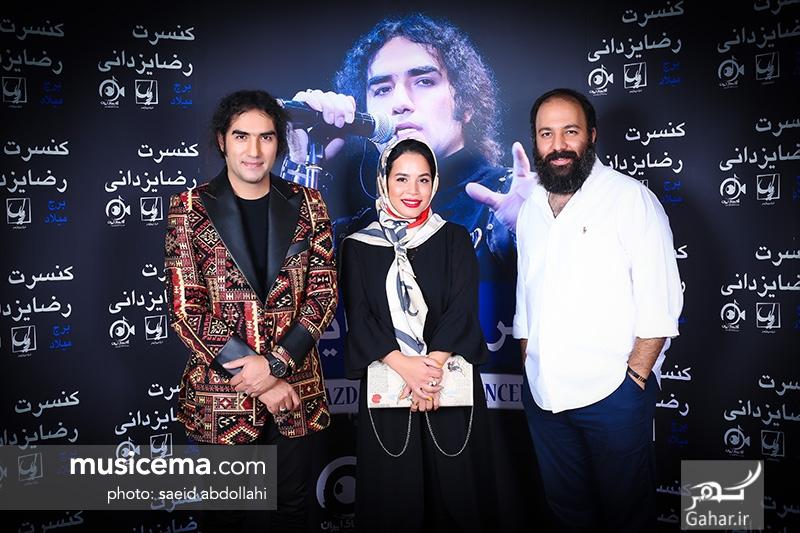 1499775753 عکس/ حضور جمعی از هنرمندان و همسرانشان در کنسرت رضا یزدانی