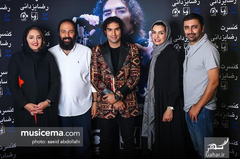 1499785161 عکس/ حضور جمعی از هنرمندان و همسرانشان در کنسرت رضا یزدانی