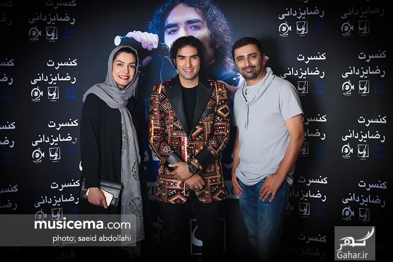 1499827469 عکس/ حضور جمعی از هنرمندان و همسرانشان در کنسرت رضا یزدانی