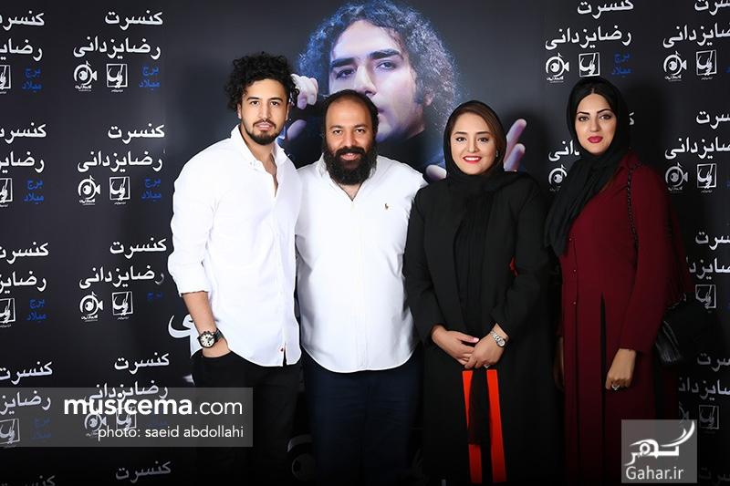 1499854732 عکس/ حضور جمعی از هنرمندان و همسرانشان در کنسرت رضا یزدانی