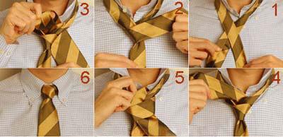 1505648494 آموزش تصويری بستن كراوات دو گره ، سه گره ، كراوات دستمال گردنی و چليپا