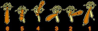 1505697089 آموزش تصويری بستن كراوات دو گره ، سه گره ، كراوات دستمال گردنی و چليپا