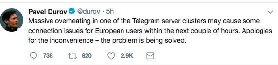 1525062186 علت قطع شدن تلگرام 9 اردیبهشت 97