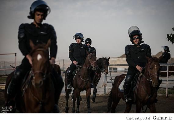 120362 سوار کاران تشریفاتی یگان ویژه ایران