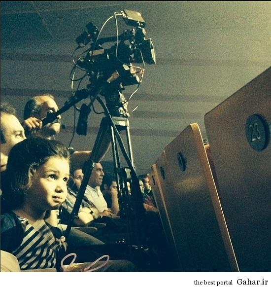 دختر بنیامین ( بارانا ) در کنسرت پدرش / عکس, جدید 1400 -گهر