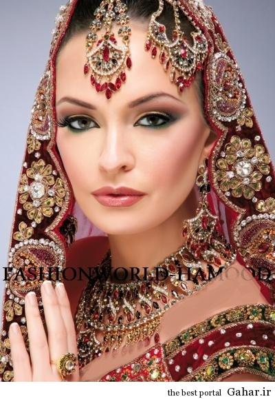 arayesh hendi 2 مدل جدید آرایش عروس هندی 2014