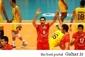 پیروزی تیم ملی والیبال ایران مقابل برزیل, جدید 1400 -گهر