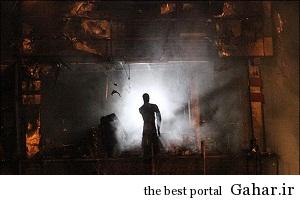 آتش سوزی در پاساژ پوشاک میدان امام حسین, جدید 1400 -گهر