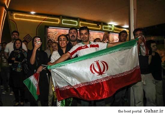 شادی تهرانی ها پس از بازی ایران و نیجریه / عکس, جدید 1400 -گهر