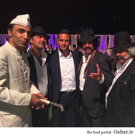 آرش برهانی در کنار لوتی ها / عکس, جدید 1400 -گهر