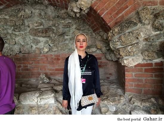 عکس های جدید آناهیتا نعمتی در خارج از کشور, جدید 1400 -گهر