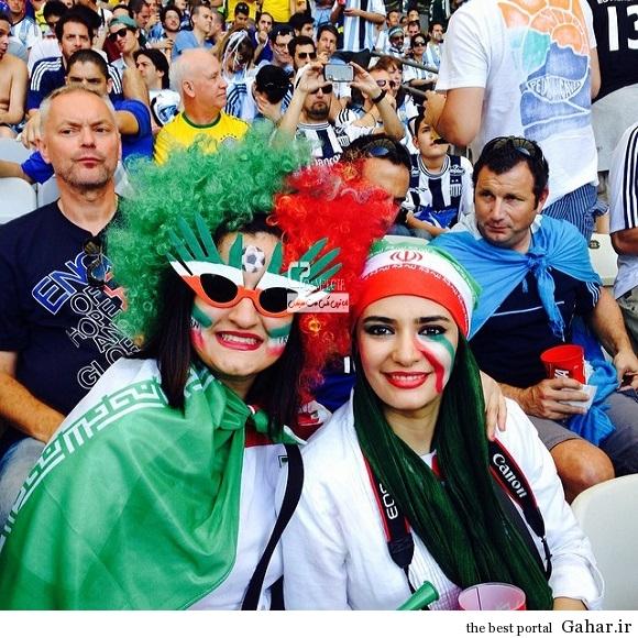 عکس های بازیگران زن و مرد در برزیل ( بازی ایران و آرژانتین ), جدید 1400 -گهر