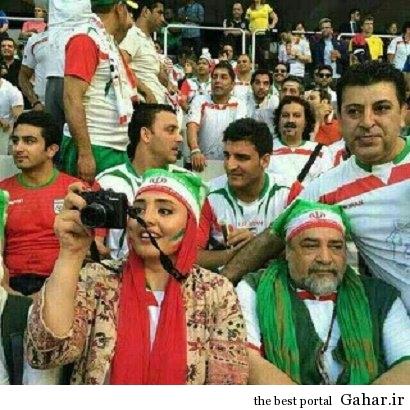 بازیگران ایرانی تماشاگران تیم ملی در برزیل / عکس, جدید 1400 -گهر
