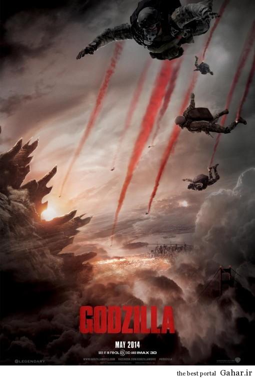 دانلود رایگان فیلم زیبای Godzilla محصول ۲۰۱۴, جدید 1400 -گهر
