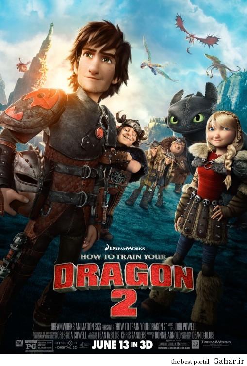 دانلود فیلم تماشایی How to Train Your Dragon 2, جدید 1400 -گهر