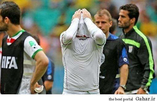 گریه های بی امان آندو پس از بازی ایران و بوسنی / عکس, جدید 1400 -گهر