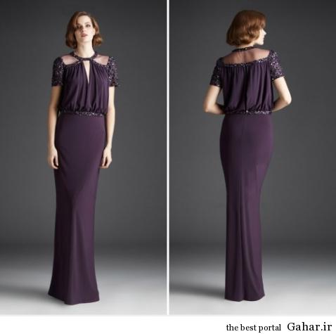 مدل لباس مجلسی بلند و کوتاه زنانه از برند Mignon, جدید 1400 -گهر