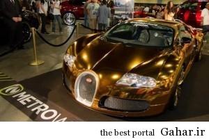 بوگاتی ویرون عجیب از جنس طلا, جدید 1400 -گهر