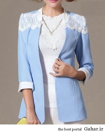 مدل کت بلیزر زنانه و دخترانه ۹۳ (۲), جدید 1400 -گهر