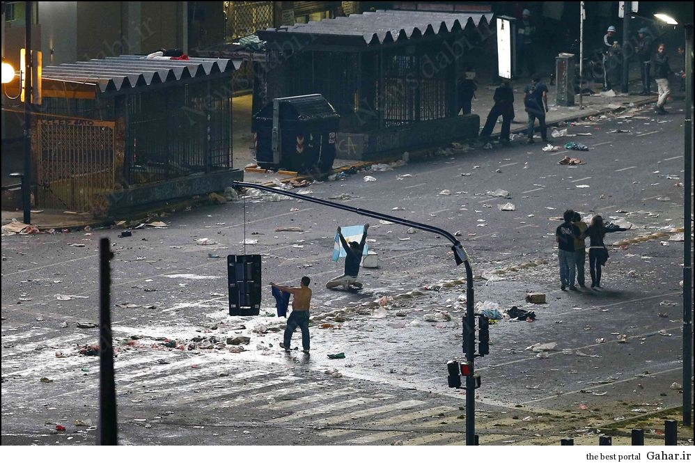 آرژانتینی های خرابکار بعد از باخت در فینال, جدید 1400 -گهر