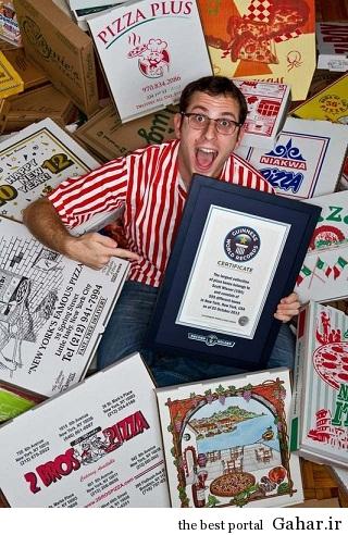 ثبت رکورد گینس با کلکسیونی عجیب !!!!, جدید 1400 -گهر