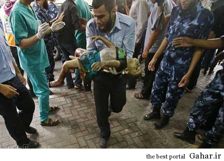 کودکان غزه غرق در خون / عکس (۱۸+), جدید 1400 -گهر