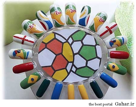 مانیکوریست به سبک جام جهانی برزیل, جدید 1400 -گهر