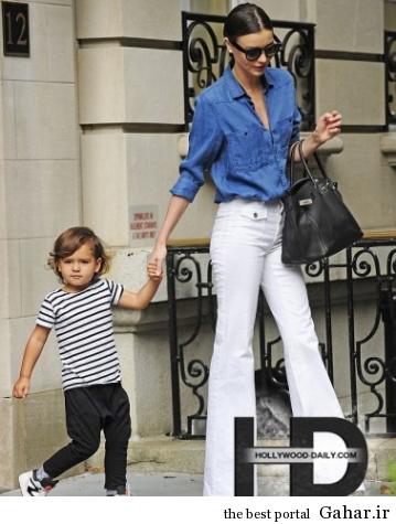 میراندا کر در نیویورک به همراه پسرش, جدید 1400 -گهر