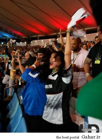 مسعود اوزیل پیراهن خود را به ریحانا داد, جدید 1400 -گهر