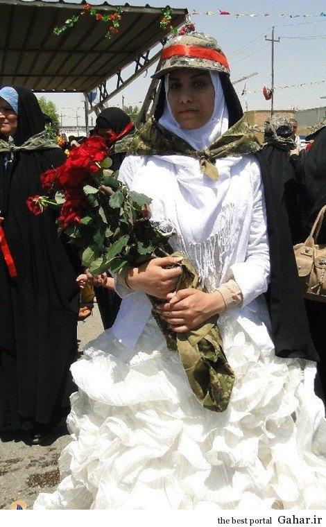 عروس عراقی آماده نبرد با داعش / عکس, جدید 1400 -گهر