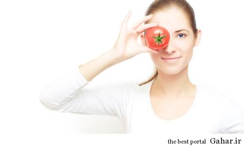 e893a1712d25c1e39f46e54de8a7b42f فواید گوجه فرنگی برای زیبایی پوست !!