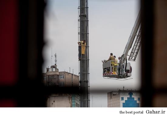 خودکشی ناموفق در میدان هفت تیر تهران +تصاویر, جدید 1400 -گهر
