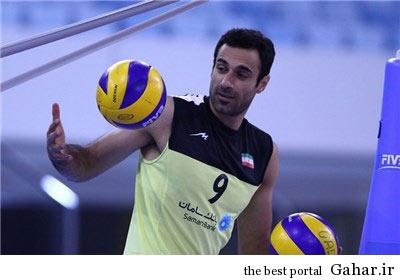 بیوگرافی والیبالیست تیم ملی ایران عادل غلامی, جدید 1400 -گهر