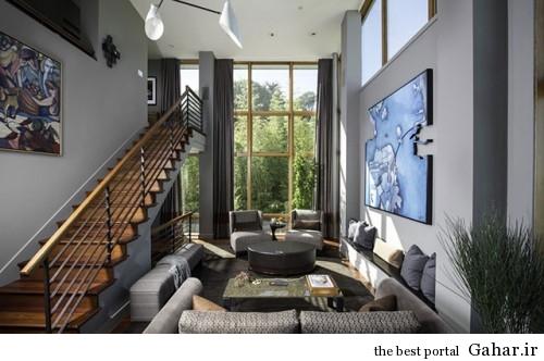خانه ی خلاقانه و مدرن در سانفرانسیسکو, جدید 1400 -گهر